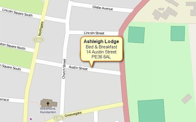 Ashleigh Lodge - B&B Hunstanton, Norfolk